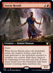 Storm Herald - Extended Art