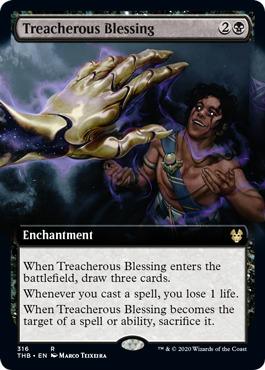 Treacherous Blessing - Extended Art