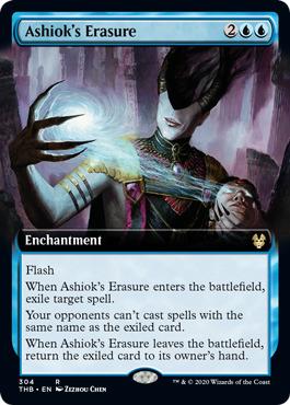 Ashiok's Erasure - Foil - Extended Art