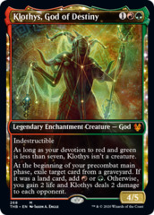 Klothys, God of Destiny - Foil - Showcase
