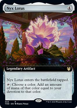 Nyx Lotus (Extended Art) - Foil