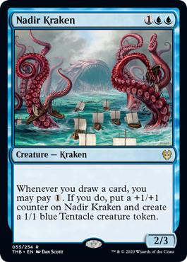 Nadir Kraken - Foil