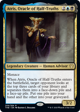 Atris, Oracle of Half-Truths - Foil