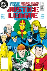 Dollar Comics Justice League #1 1987 (STL149228)