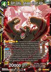 Son Goku, Savage Great Ape - P-156 - PR - Foil
