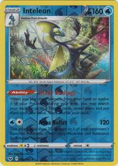 Inteleon - 058/202 - Reverse Holo Rare