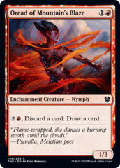 Oread of Mountain's Blaze - Foil