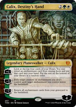 Calix, Destinys Hand - Foil - Borderless