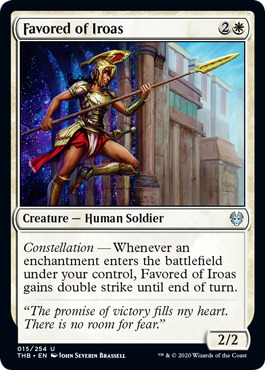Favored of Iroas - Foil