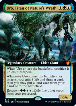 Uro, Titan of Natures Wrath - Foil - Extended Art