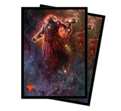 Ultra Pro - Theros Beyond Death Deck Protector Sleeves - Alternate Art Purphoros, Bronze-Blooded