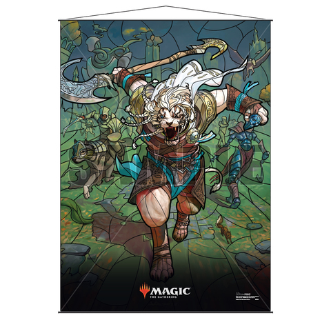 Ultra Pro Wall Scroll War of the Spark Stained Glass Ajani