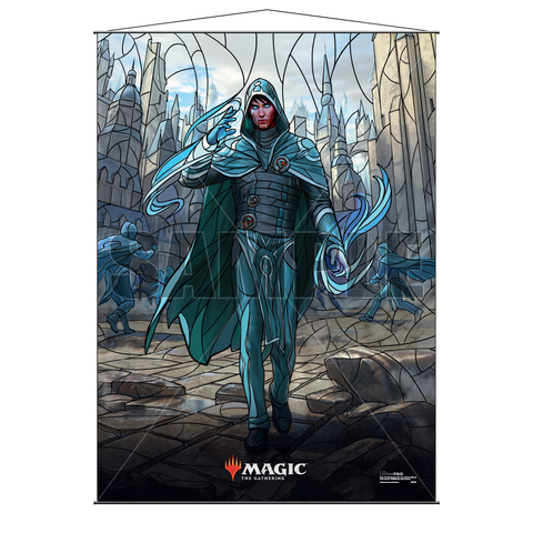 Ultra Pro Wall Scroll War of the Spark Stained Glass Jace