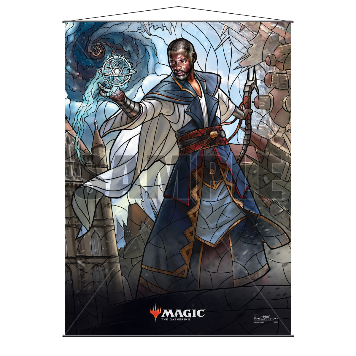 Ultra Pro Wall Scroll War of the Spark Stained Glass Teferi