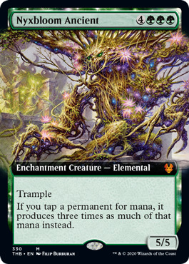 Nyxbloom Ancient - Foil - Extended Art