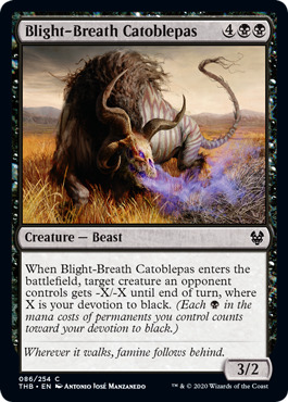 Blight-Breath Catoblepas