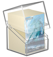 Ultimate Guard - Deck Case 100+ Boulder: Clear