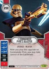 Commander Pyre's Blaster