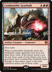 Combustible Gearhulk - Promo Pack
