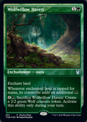 Wolfwillow Haven - Foil Dark Frame Promo