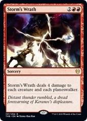 Storm's Wrath - Foil - Prerelease Promo