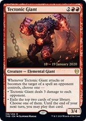 Tectonic Giant - Foil - Prerelease Promo