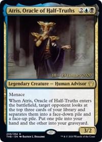 Atris, Oracle of Half-Truths - Foil - Prerelease Promo