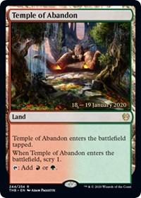 Temple of Abandon - Foil - Prerelease Promo