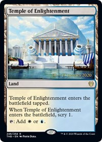 Temple of Enlightenment - Foil - Prerelease Promo