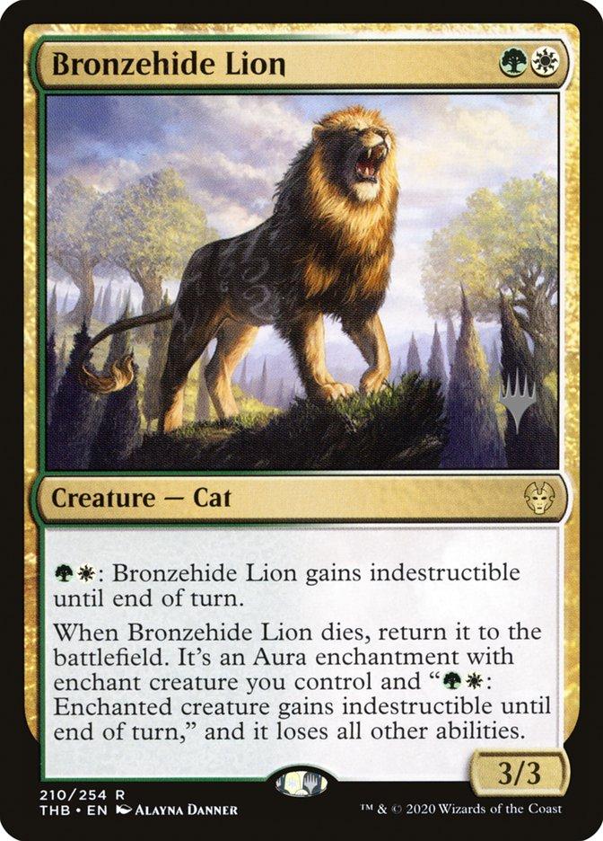 Bronzehide Lion - Foil - Promo Pack