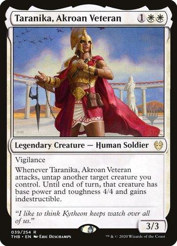 Taranika, Akroan Veteran - Promo Pack