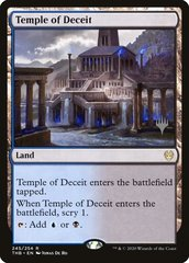 Temple of Deceit - Foil - Promo Pack