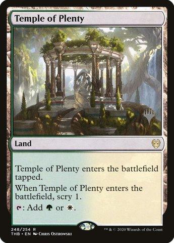 Temple of Plenty - Promo Pack