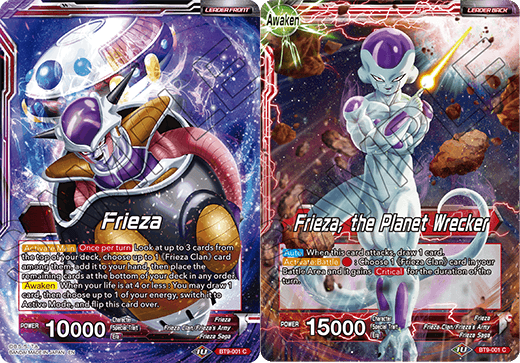 Frieza // Frieza, the Planet Wrecker - BT9-001 - C - Foil
