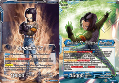 Android 17 // Android 17, Universal Guardian - BT9-021 - C - Foil