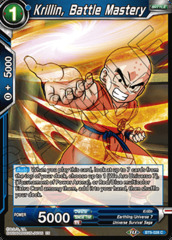 Krillin, BATTLE Mastery - BT9-028 - C - Foil