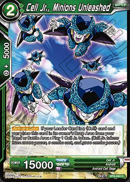 Cell Jr., Minions Unleashed - BT9-040 - C - Foil