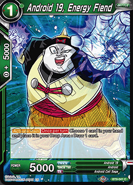 Android 19, Energy Fiend - BT9-041 - C