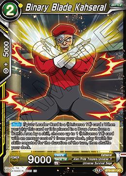 Binary Blade Kahseral - BT9-061 - UC