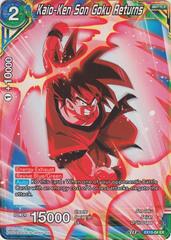 Kaio-Ken Son Goku Returns - EX10-04 - EX - Foil