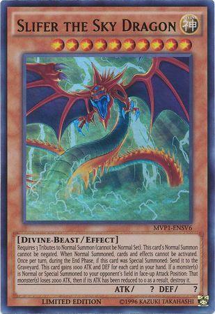 Slifer the Sky Dragon - MVP1-ENSV6 - Ultra Rare - Limited Edition