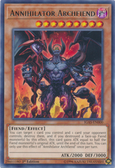 Annihilator Archfiend - IGAS-EN000 - Rare - 1st Edition on Channel Fireball