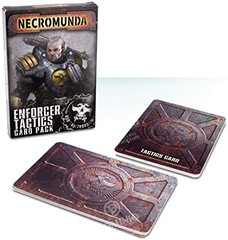 Necromunda Enforcer Tactics Card Pack