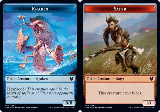 - Theros: Beyond Death 004//014 Common Kraken Token