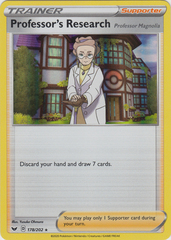 Professor's Research - 178/202 -Holo Rare