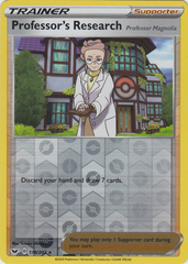 Professor's Research - 178/202 -Reverse Holo Rare