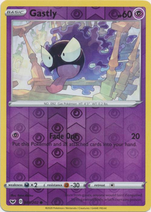 Sword /& Shield Set Gossifleur 020//202 NM Common Reverse Holo Pokemon Card