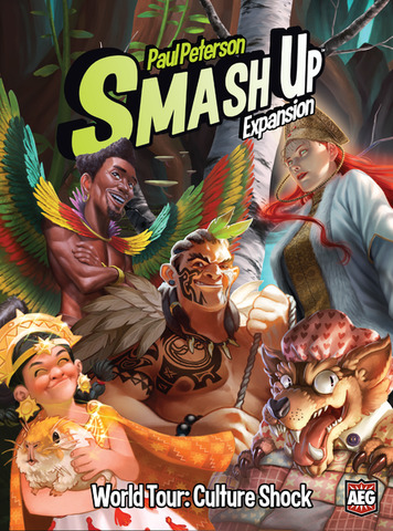 Smash Up: World Tour - Culture Shock