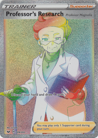 Professors Research - 209/202 - Secret Rare