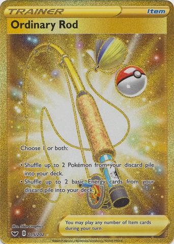 Ordinary Rod - 215/202 - Secret Rare